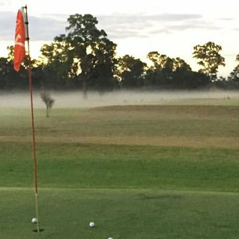 Scenery of the golf course at Gilgandra Golf Club