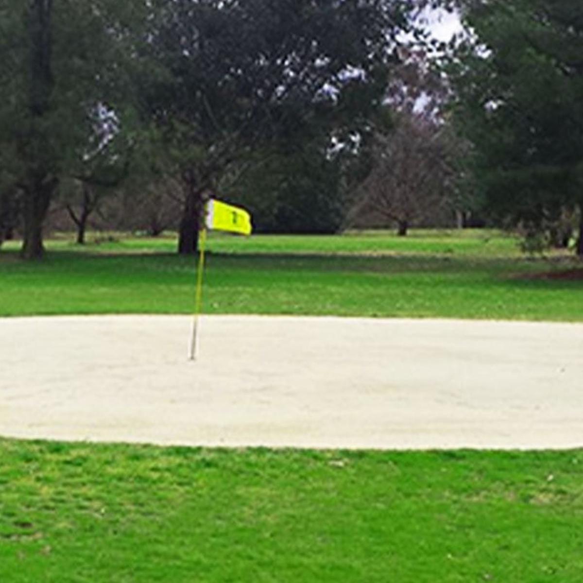 Sand greens at Holbrook Returned Servicemen's Golf Club