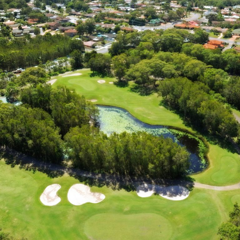 Views of the golf course at Horizons Golf Club