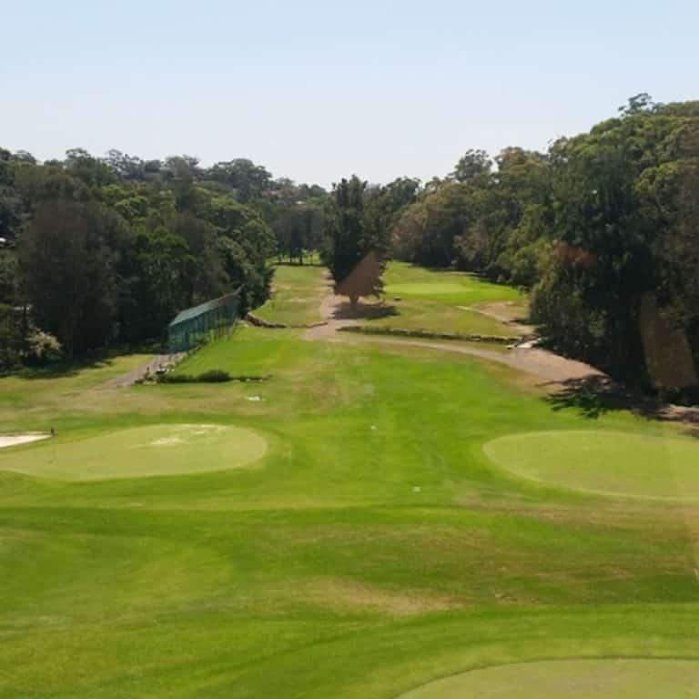 Views of the golf course at Kareela Golf Club