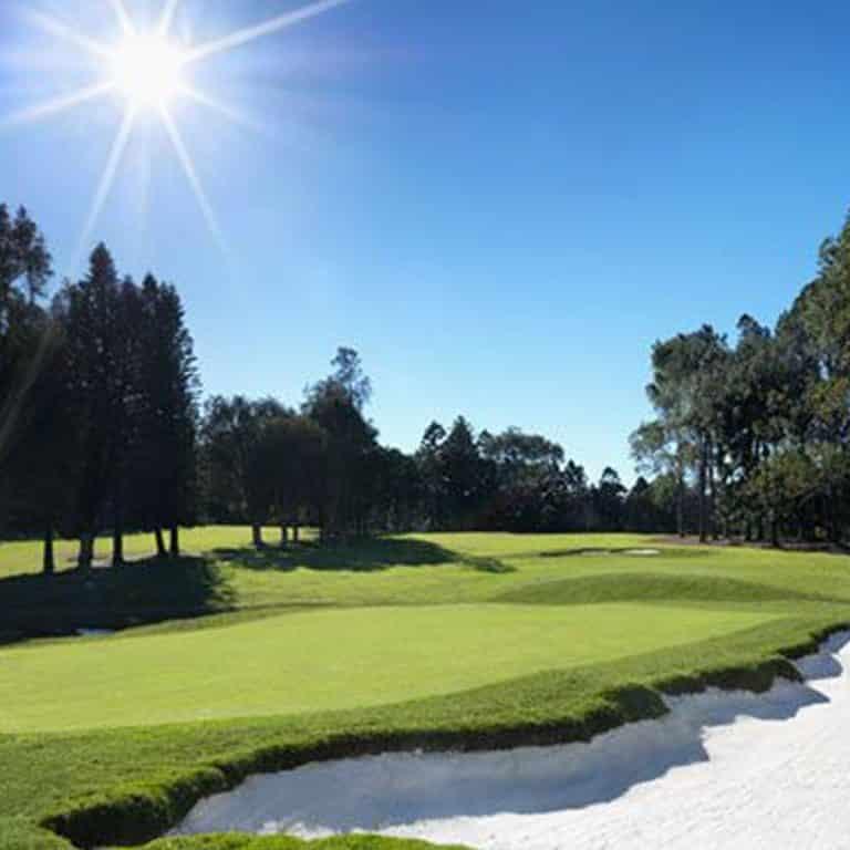 Image of the golf course at Killara Golf Club