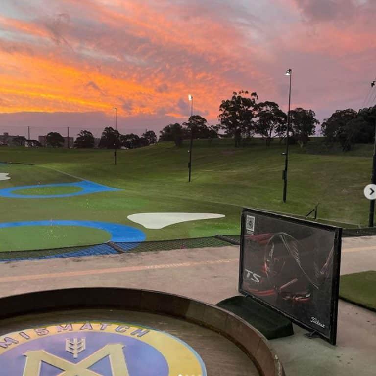 Moore Park Golf Club Driving Range Testing Night