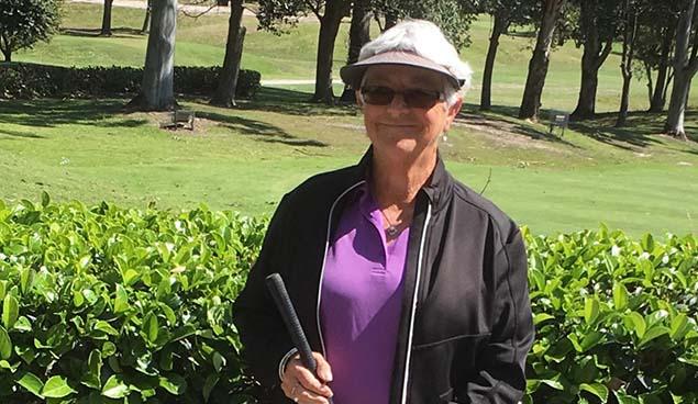 Kaylene Baillie (Gosford GC) - Marie Chapman Trophy Winner
