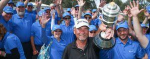 NSW Senior Open Champion Brad Burns Golfer