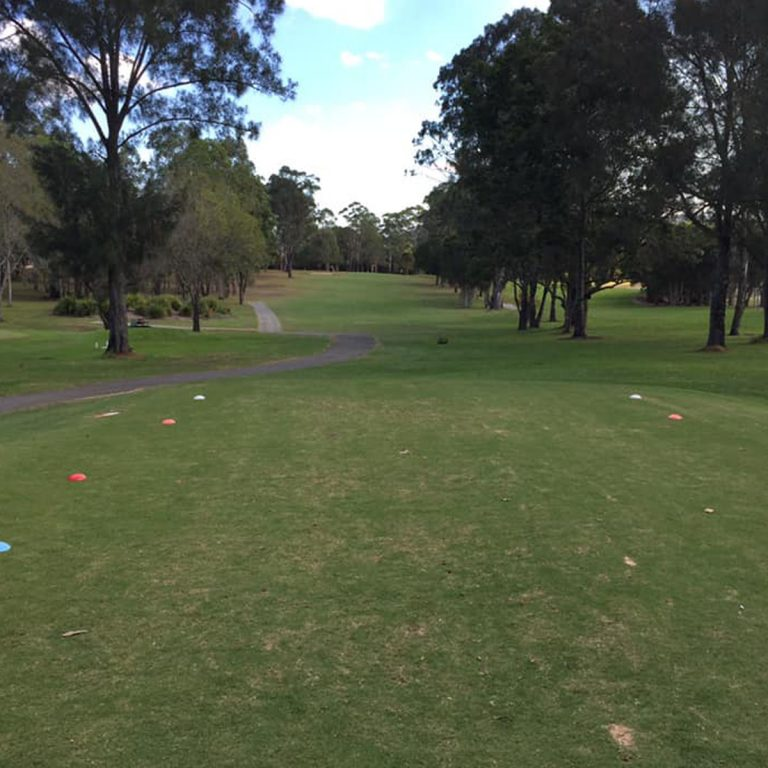 Scenery of the golf course at Kew Country Club