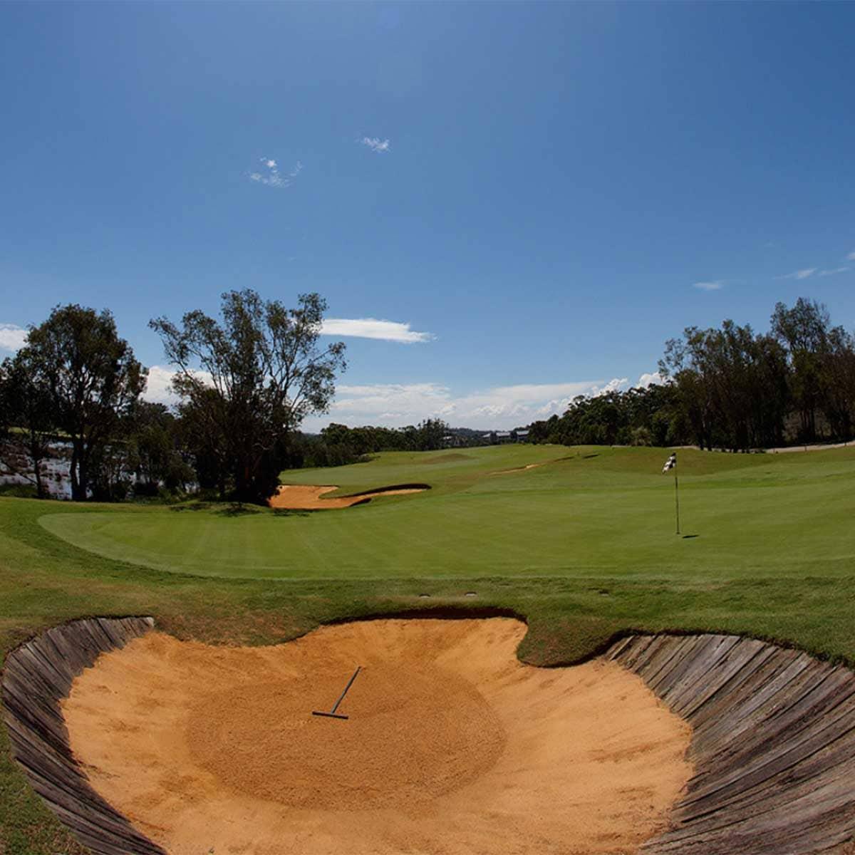 Early Morning views over Kooindah Waters Golf Club