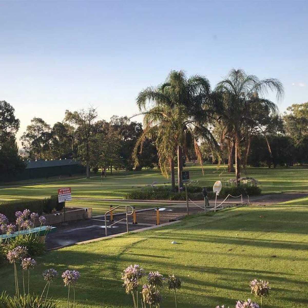 Scenes at Tamworth Golf Club