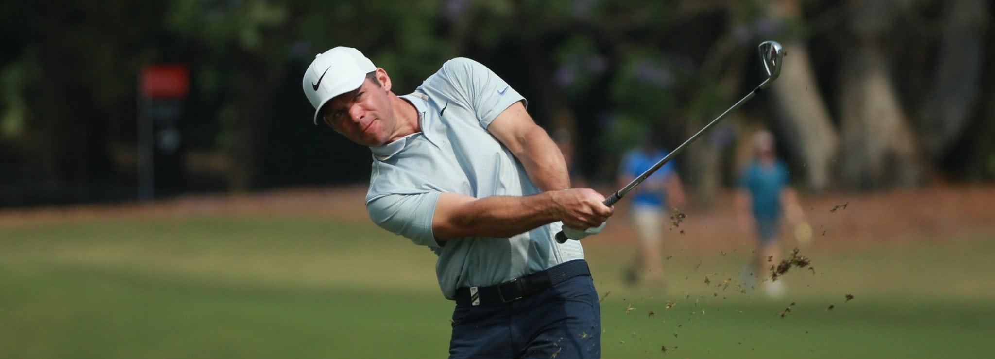 Paul Casey leads the Australian Open by one