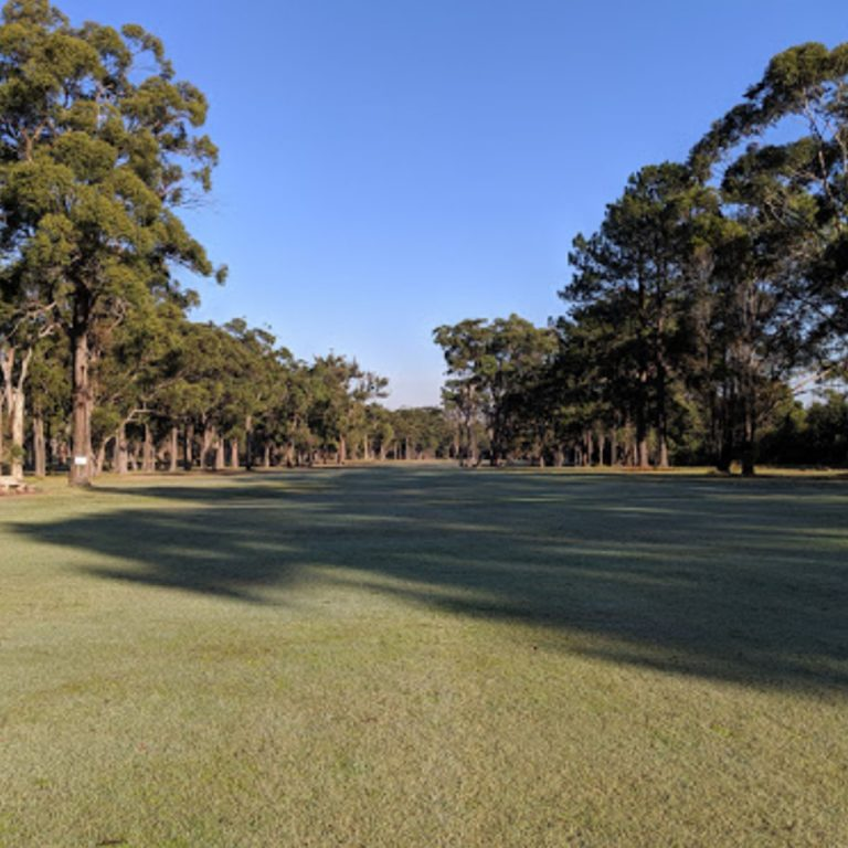 Scenery of the golf course at Karuah Golf Club