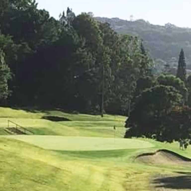 Views of the golf course at Lismore Golf Club