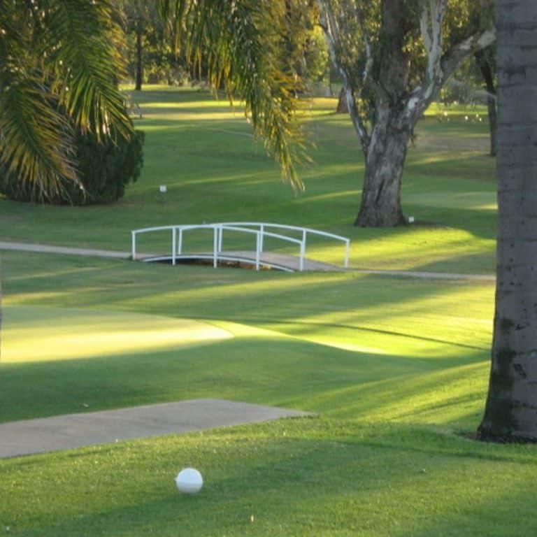 Moree Golf Club bridge