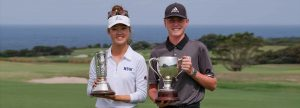 Grace Kim and Ben Schmidt - 202 NSW Amateur Champions