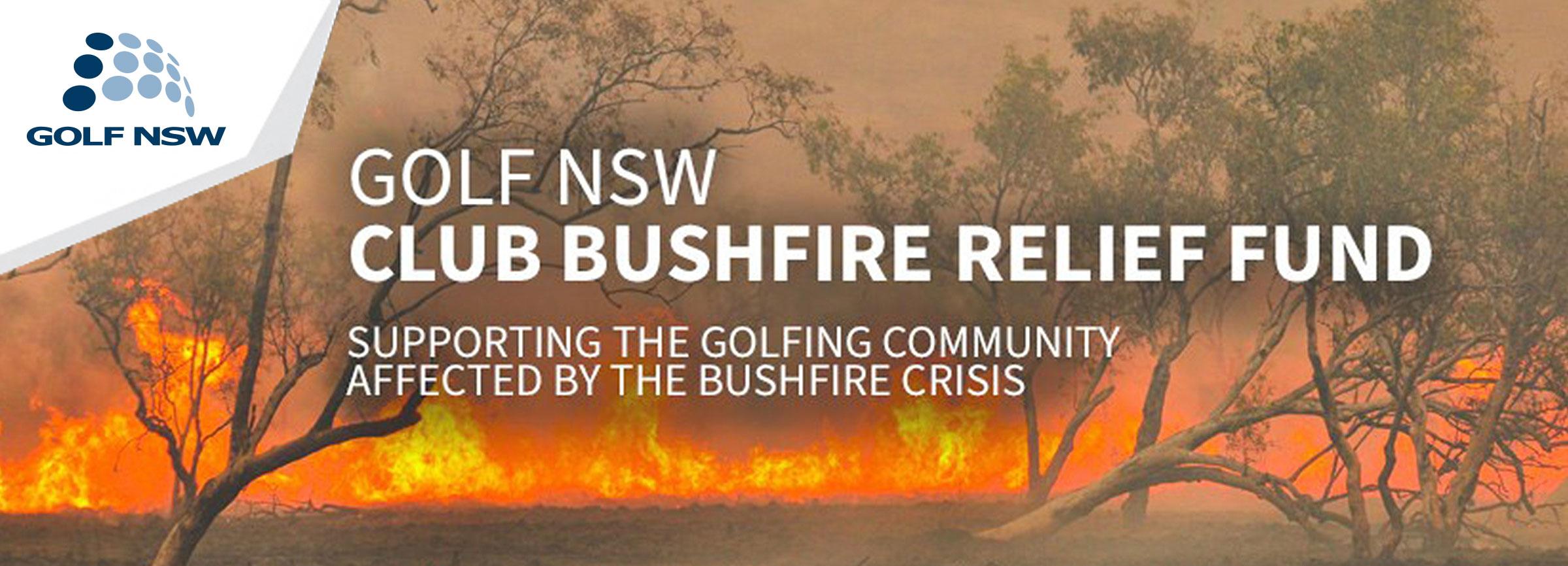 Announcing Club Bushfire Relief Fund