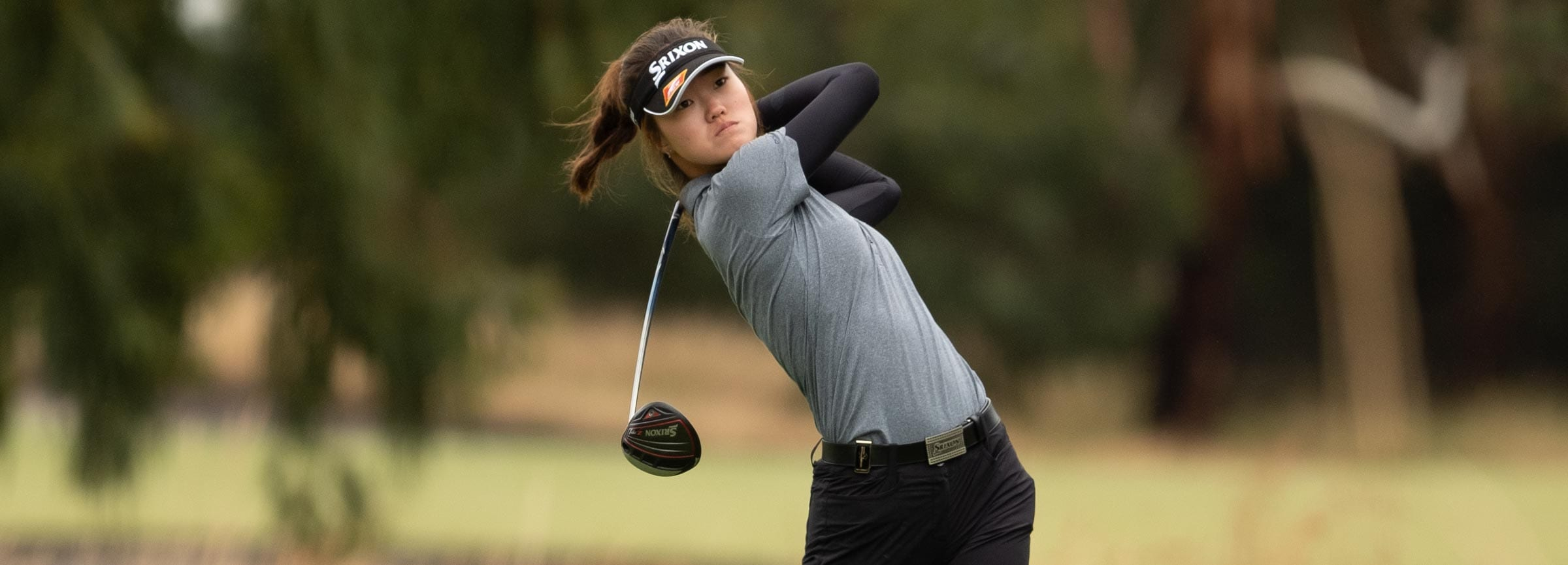 Grace Kim is in their place after the opening round of the Australian Master of the Amateurs