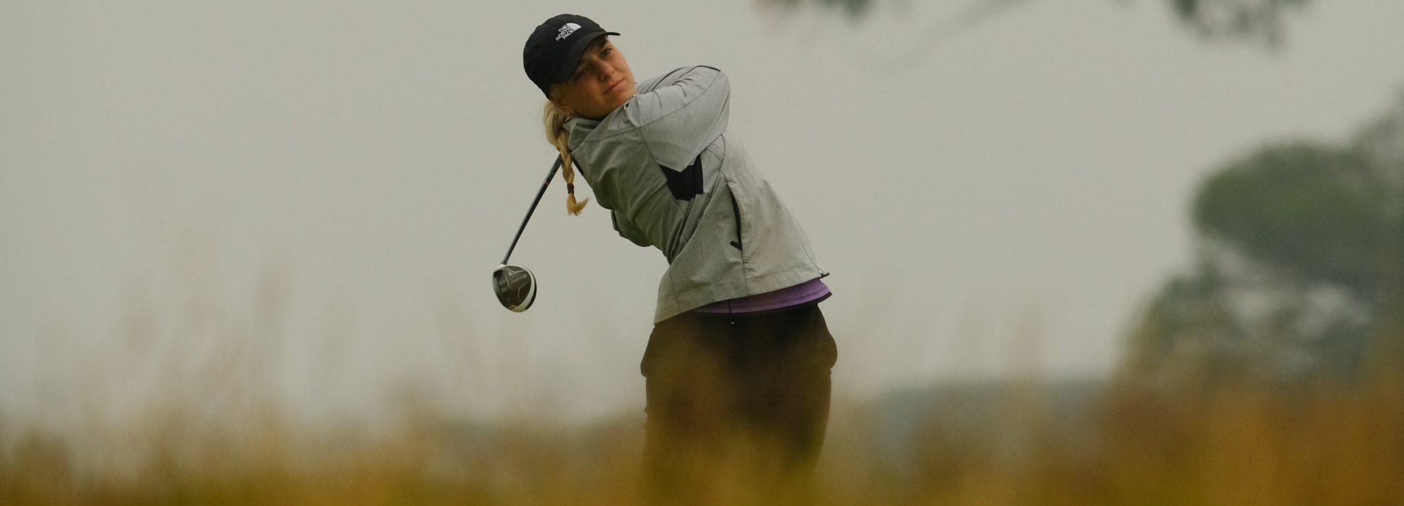 Stephanie Kyriacou in action
