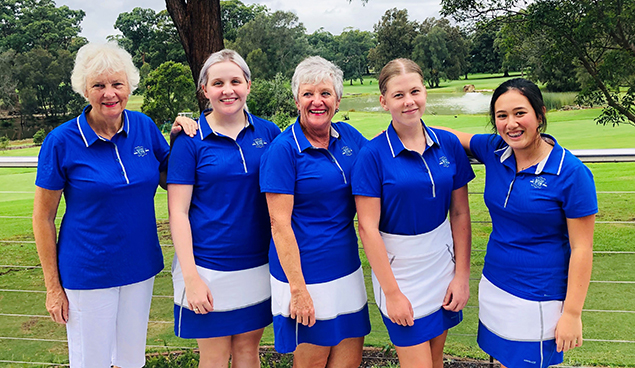 New South Wales Golf Club - 2019 Division 2 Winners