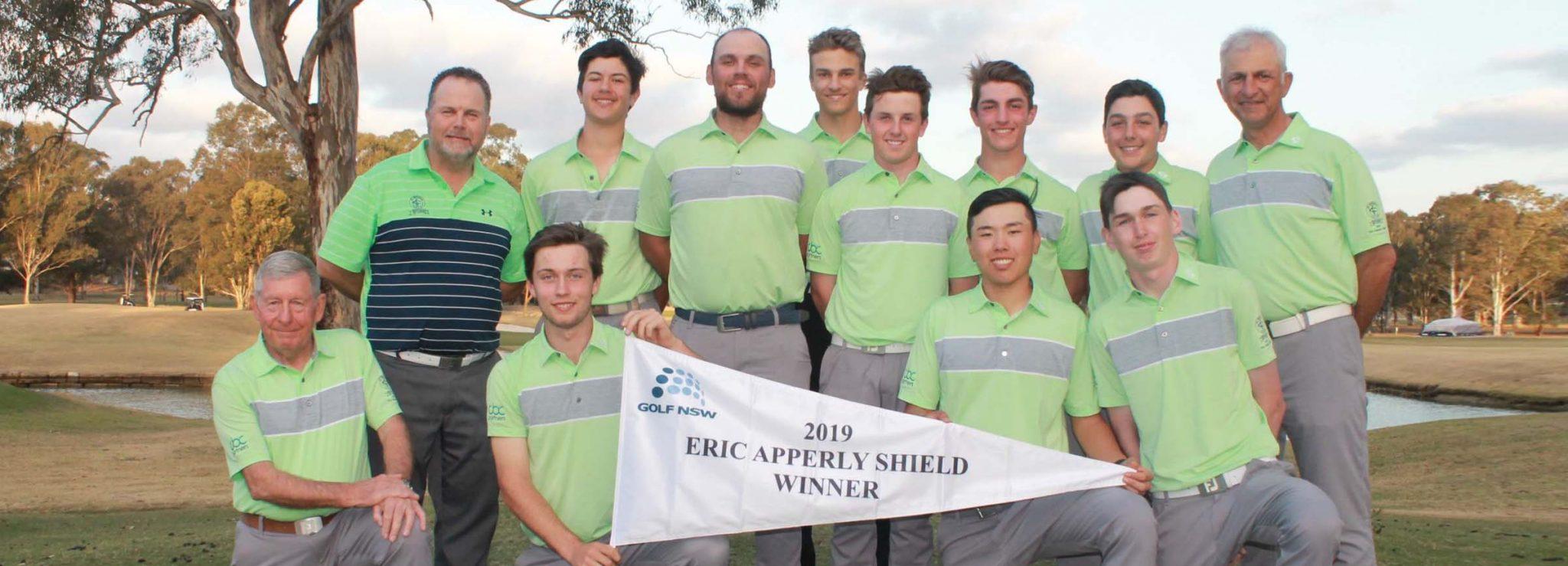 2019 Eric Apperly Shield Winners St Michael's Golf Club