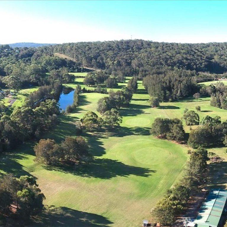 scenes from The Moorings - Crackerjack Golf