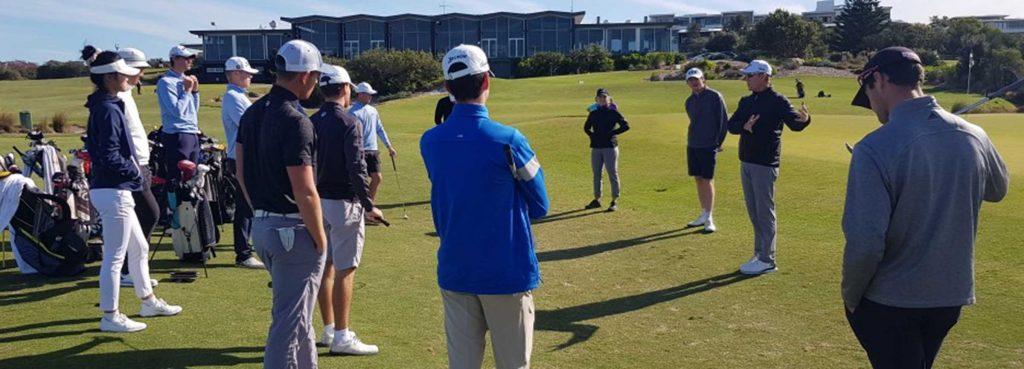 Brad Kennedy and Golf NSW HP Squad