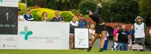 Stephanie Kyriacou of Australia during the Australian Ladies Classic
