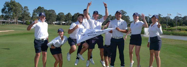Avondale celebrate winning the 2020 2020 Eric Apperly Shield