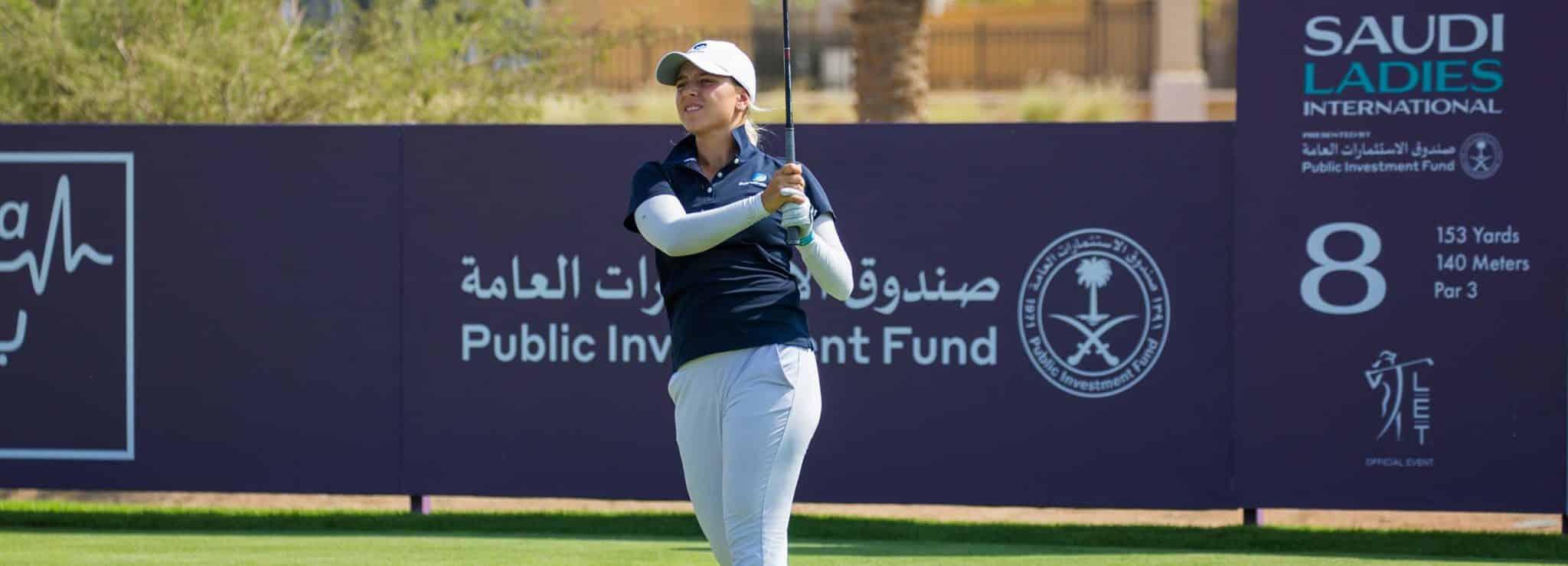 Stephanie Kyriacou of Australia during the final round