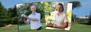 Winners of the NSW Senior Amateur with trophies