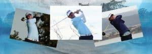 photo montage of Golfers