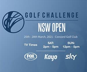 Golf Challenge NSW Open Logo