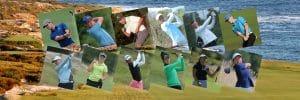 Photo of golfers