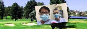 Rosie Ch'ng and Menna Davies nurses